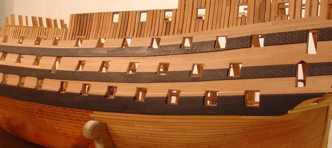 External hull planking