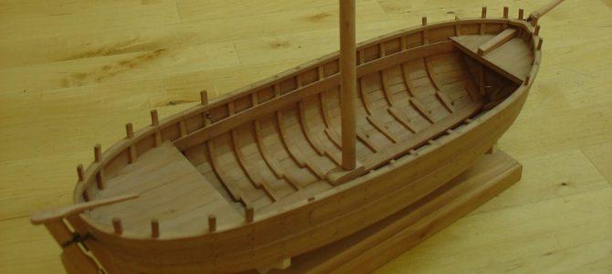 Le bateau de Lanvéoc – build